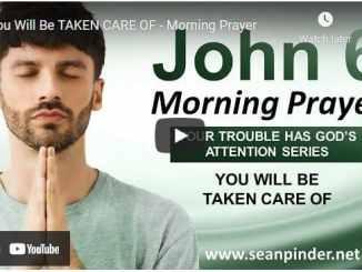 Pastor Sean Pinder Morning Prayer July 8 2021