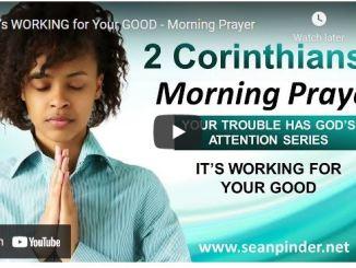 Pastor Sean Pinder Morning Prayer Session July 16 2021