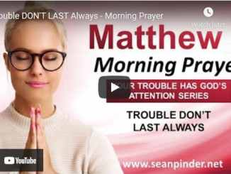 Pastor Sean Pinder Morning Prayer Session July 2 2021