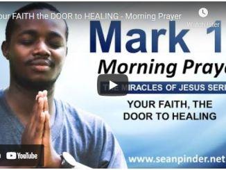 Pastor Sean Pinder Morning Prayer Session July 26 2021