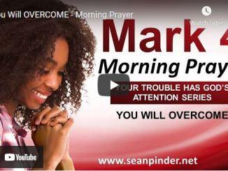 Pastor Sean Pinder Morning Prayer Session July 9 2021