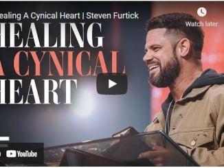Pastor Steven Furtick Sermon: Healing A Cynical Heart