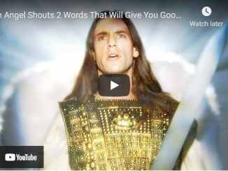 Sid Roth & Joshua Giles: An Angel Shouts 2 Words That Will Give You Goosebumps