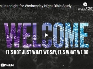Wednesday Night Bible Study at The Potter's House of Dallas