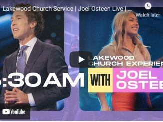 Lakewood Church Sunday Live Service August 1 2021