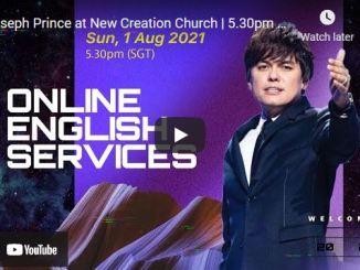 New Creation Church Sunday Live Service August 1 2021