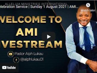 Pastor Alph Lukau Sunday Live Service August 1 2021