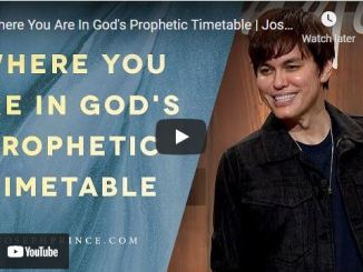 Pastor Joseph Prince: Where You Are In God's Prophetic Timetable