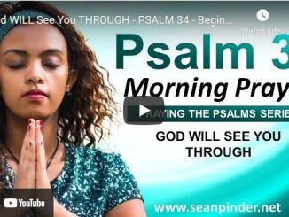 Pastor Sean Pinder Morning Prayer Session August 21 2021