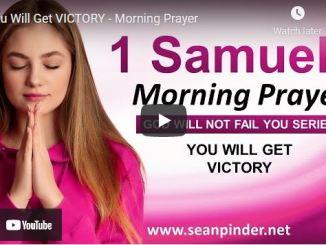 Pastor Sean Pinder Morning Prayer Session August 7 2021