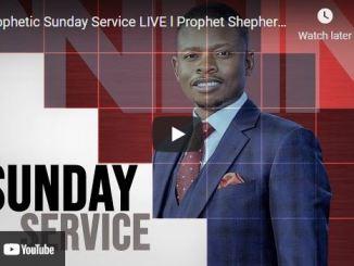 Prophetic Sunday Service With Prophet Shepherd Bushiri September 19 2021