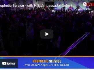 Prophetic Sunday Service With Uebert Angel Jr September 19 2021