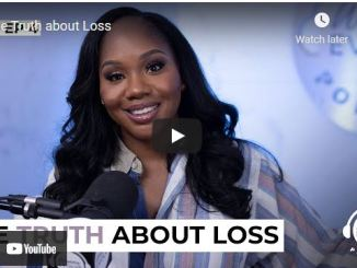Sarah Jakes Roberts Message: The Truth about Loss