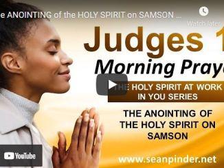 Morning Prayer With Pastor Sean Pinder October 5 2021