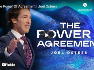 Pastor Joel Osteen Sermon October 25 2021: The Power Of Agreement