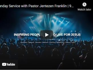 Sunday Live Service At Free Chapel October 17 2021