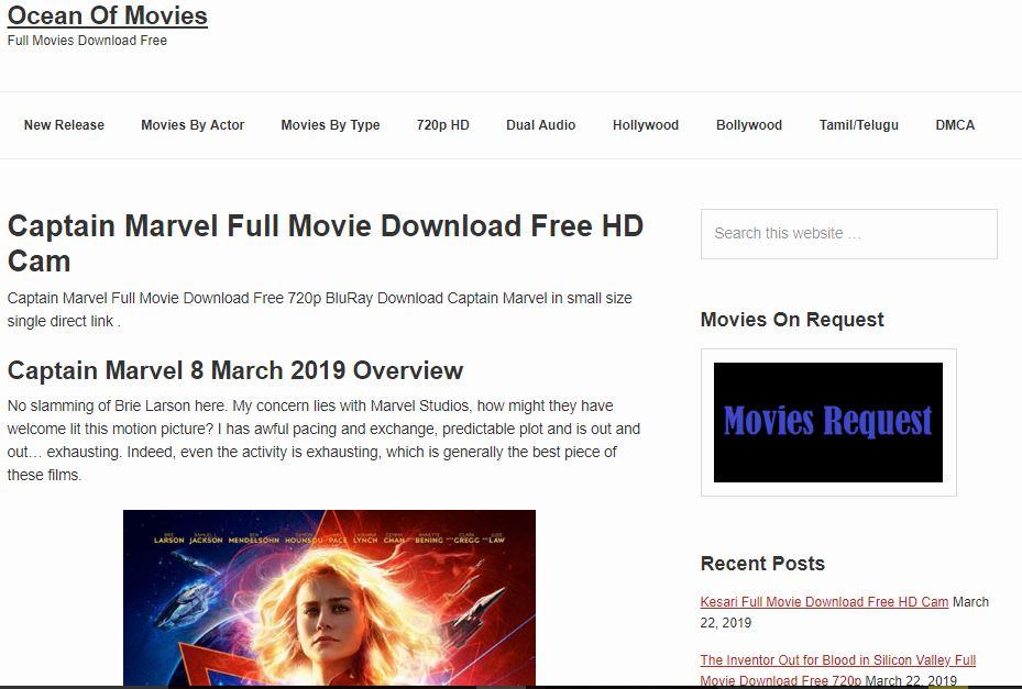 OCEANOFMOVIES (Mp4 Movies Free Download)
