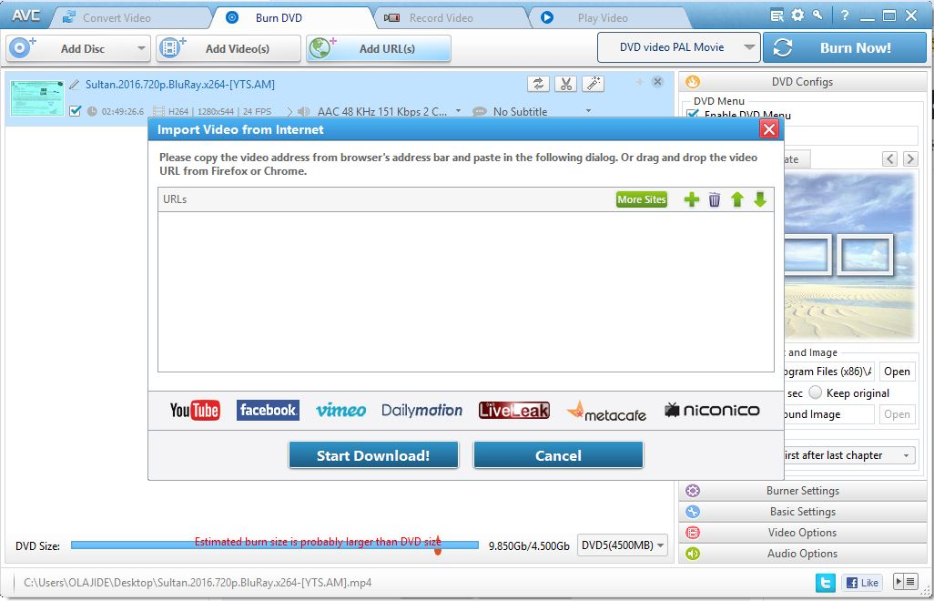 you can download any video online, convert video into mp4