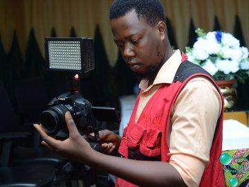 Why I Became A Photographer, Olajide on set
