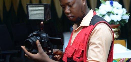 Why I Became A Photographer, Olajide on set