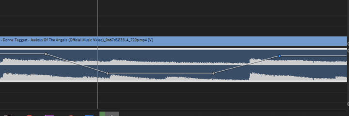 fade music in and out in Premiere Pro. Audio Valley shape
