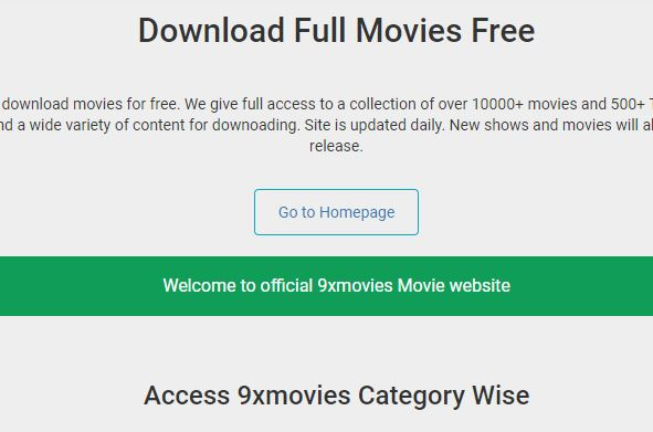 9xmovies: Download HD Movies For Free Within A Minute