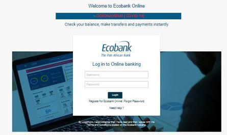 Ecobank Online Banking