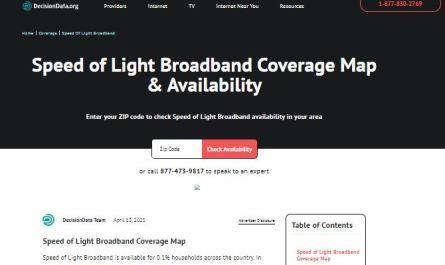 Speed of Light Internet