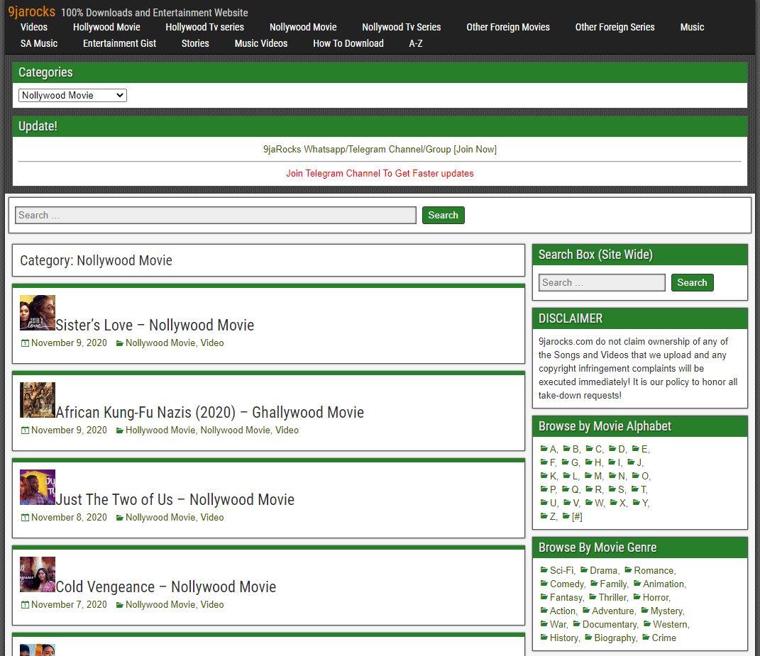 9jarocks Movies Download - Download Nigerian Movies | 2021 Update!