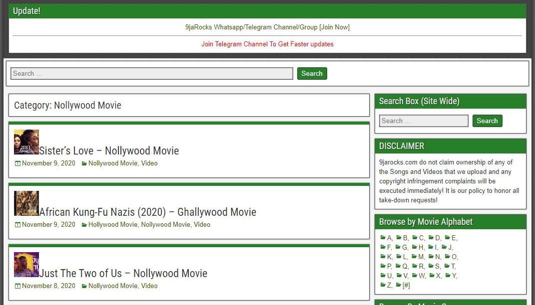 9jarocks Movies Download