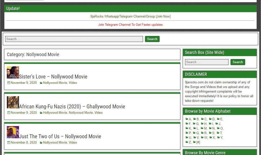 9jarocks Movies Download – Download Nigerian Movies | 2021 Update!