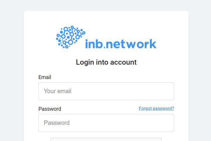 INB Network Login