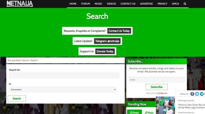 search bar netnaija