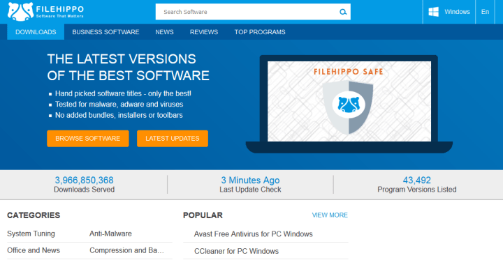 file-hipo Software Download Sites