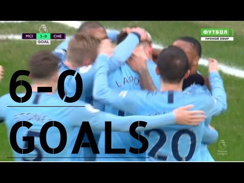 VIDEO: Manchester City vs Chelsea 6-0 EPL 2019 Goals Highlights Mp4