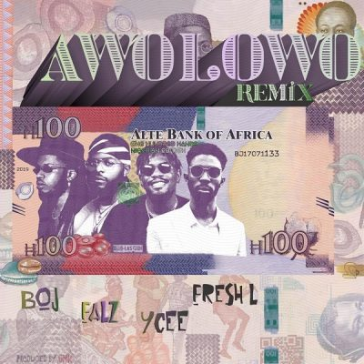 BOJ ft. Falz, Ycee & Fresh L - Awolowo (Remix) Mp3 Audio Download
