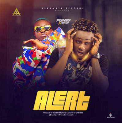 Spider Rider Ft. Zlatan - Alert Mp3 Audio Download