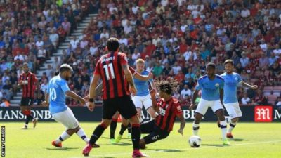 VIDEO: Bournemouth Vs Man City 1-3 EPL 2019 Goals Highlights Mp4 Download 3Gp