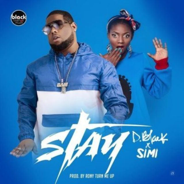 Lyrics of Stay by D-black featuring Simi