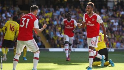 VIDEO: Watford Vs Arsenal 2-2 EPL 2019 Goals Highlights Mp4 3gp HD Video Download