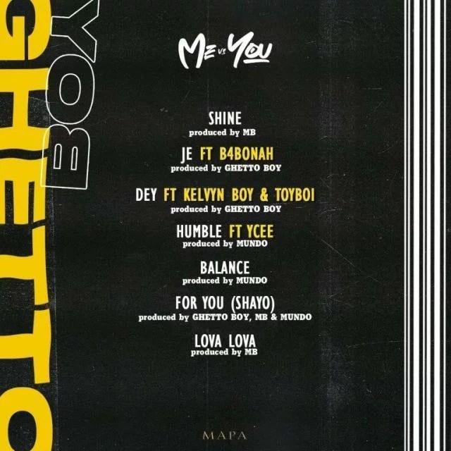 Ghetto Boy Ft. KelvynBoy, Toyboi - Dey Mp3 Audio Download