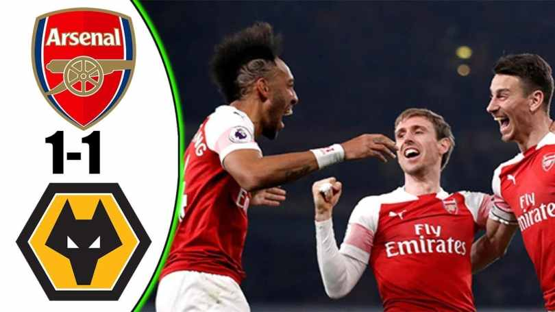 VIDEO: Arsenal Vs Wolves 1-1 2019 Goals & Extended Highlights HD 3Gp Mp4 Download