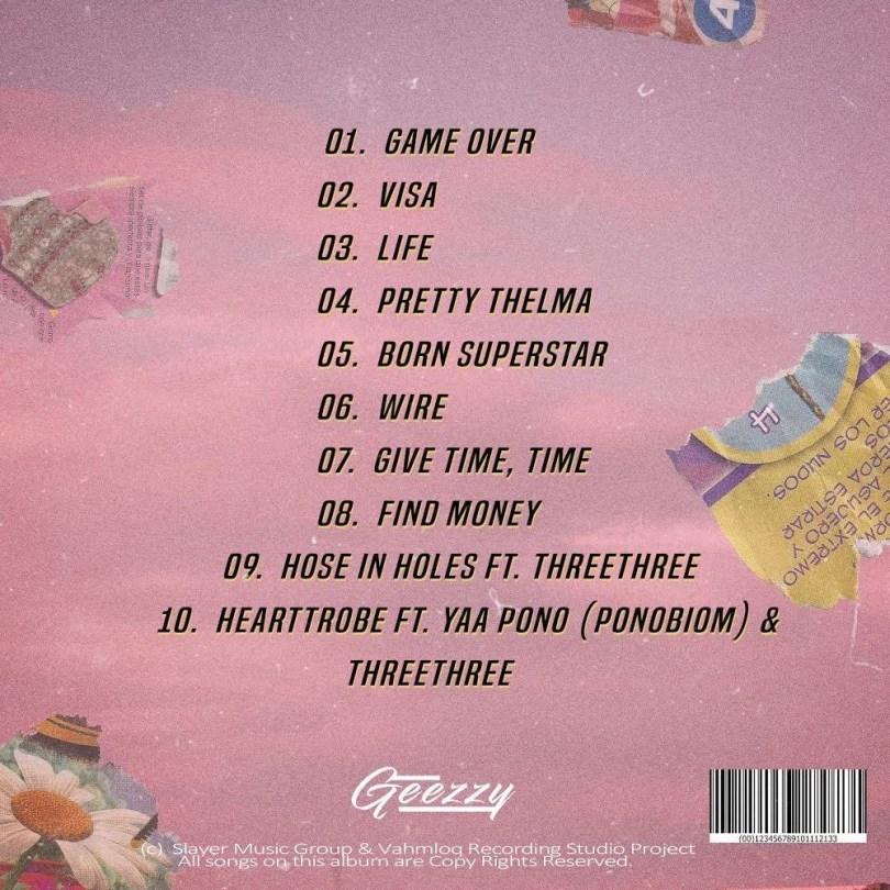 Geezzy HeartTrobe Ft Yaa Pono ThreeThree Mp3 Audio Download