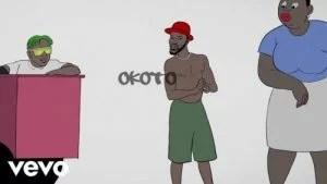 VIDEO: Broda Shaggi - Okoto Ft. Zlatan (Visualizer)
