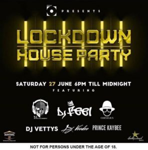 Prince Kaybee - Lockdown House Party Mix Mp3 Audio Download