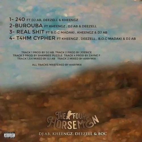 The Four Horsemen Tracklist
