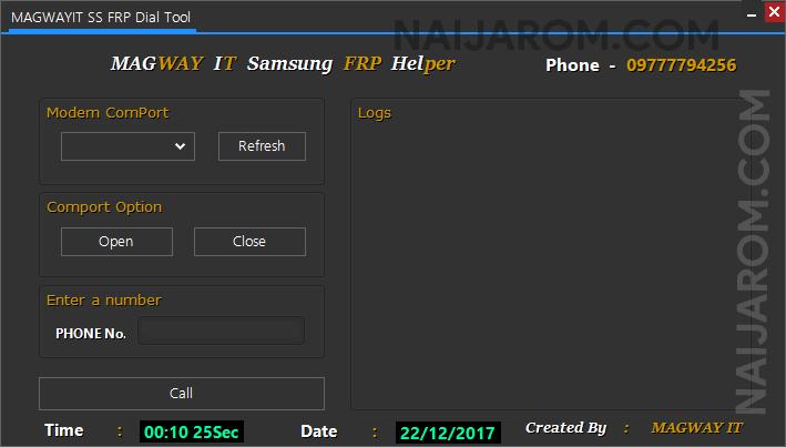 Magway IT Samsung FRP Helper Tool