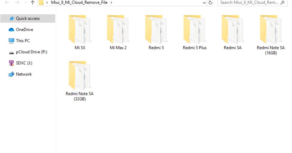 Miui 9 Mi Cloud Remove File