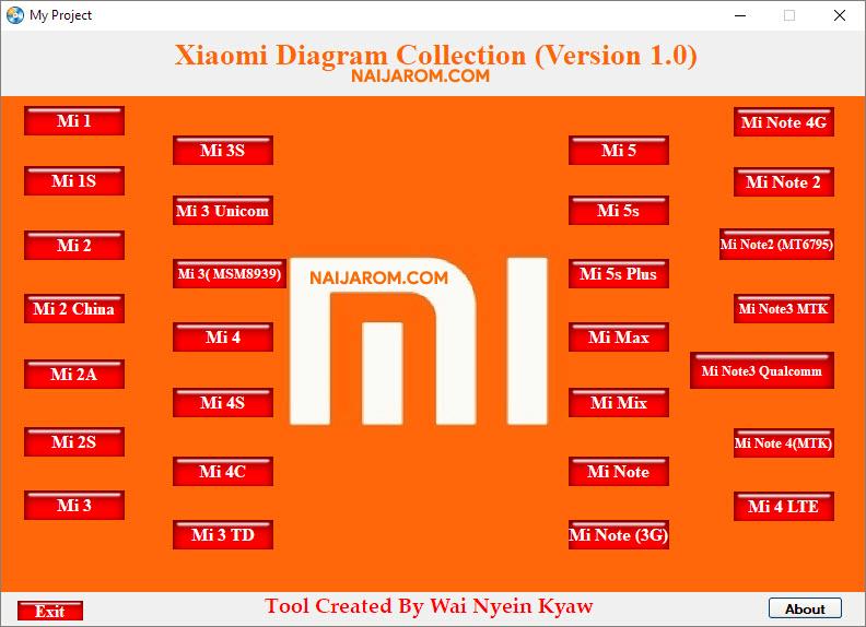 Xiaomi Diagram Tool v1.0