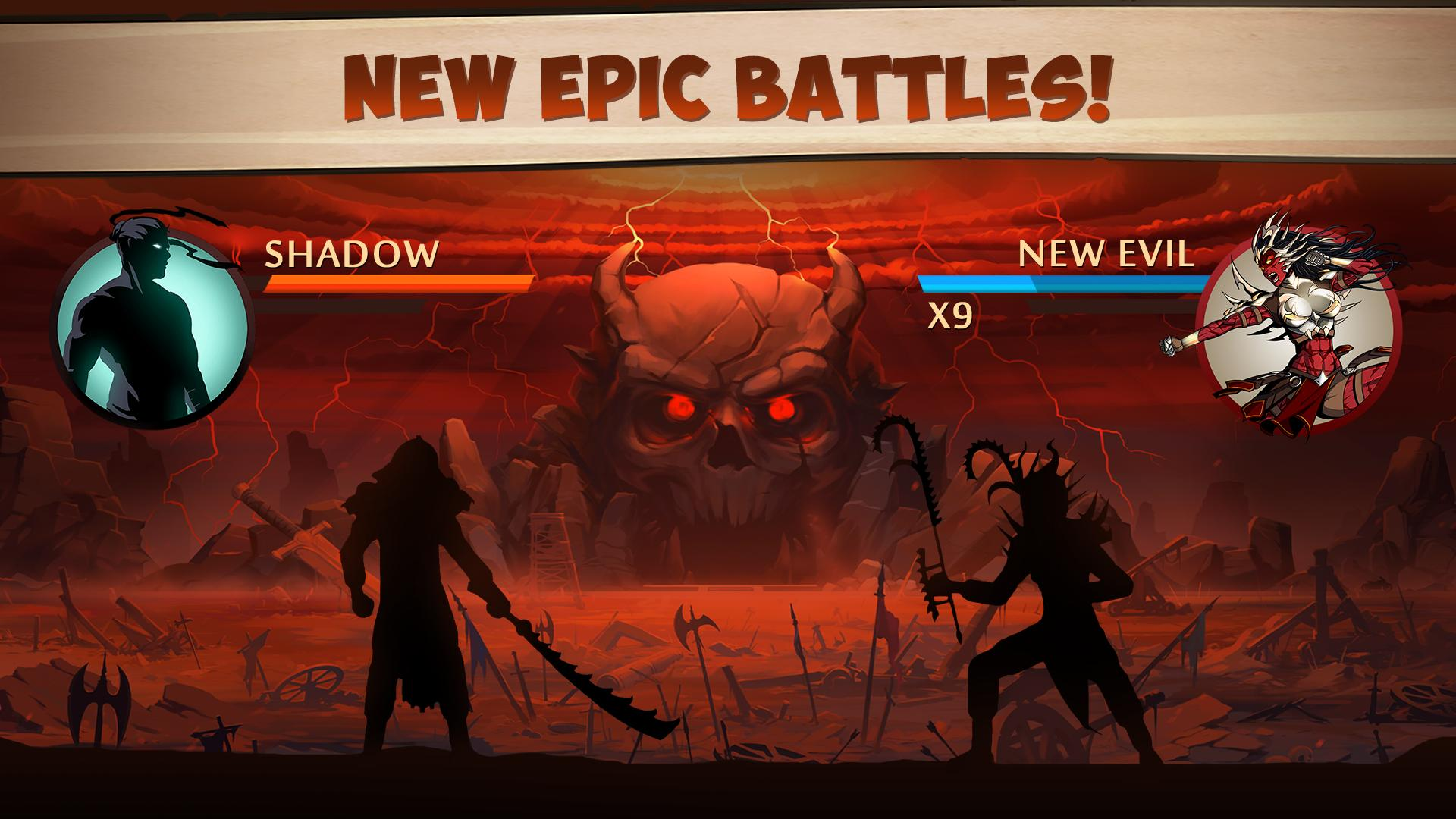 1 screen 0 - Shadow Fight 2 Mod Apk Special Edition - Everything Unlimited